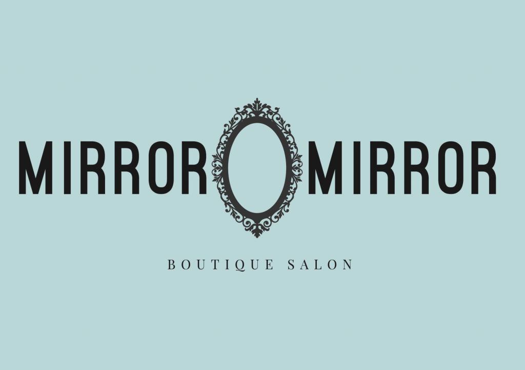 mirror mirror borique salon branding